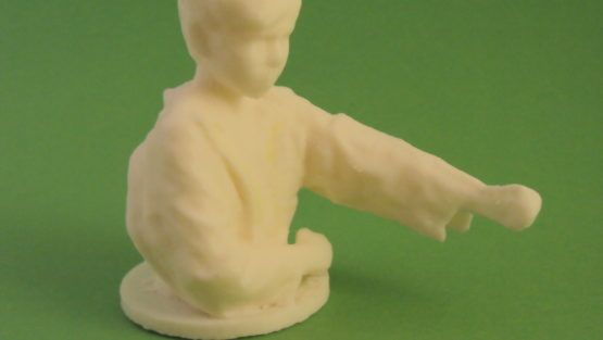 3D print from Scan Karate Kid