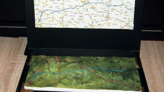 Landkarten 3D Druck 3D print terrain model