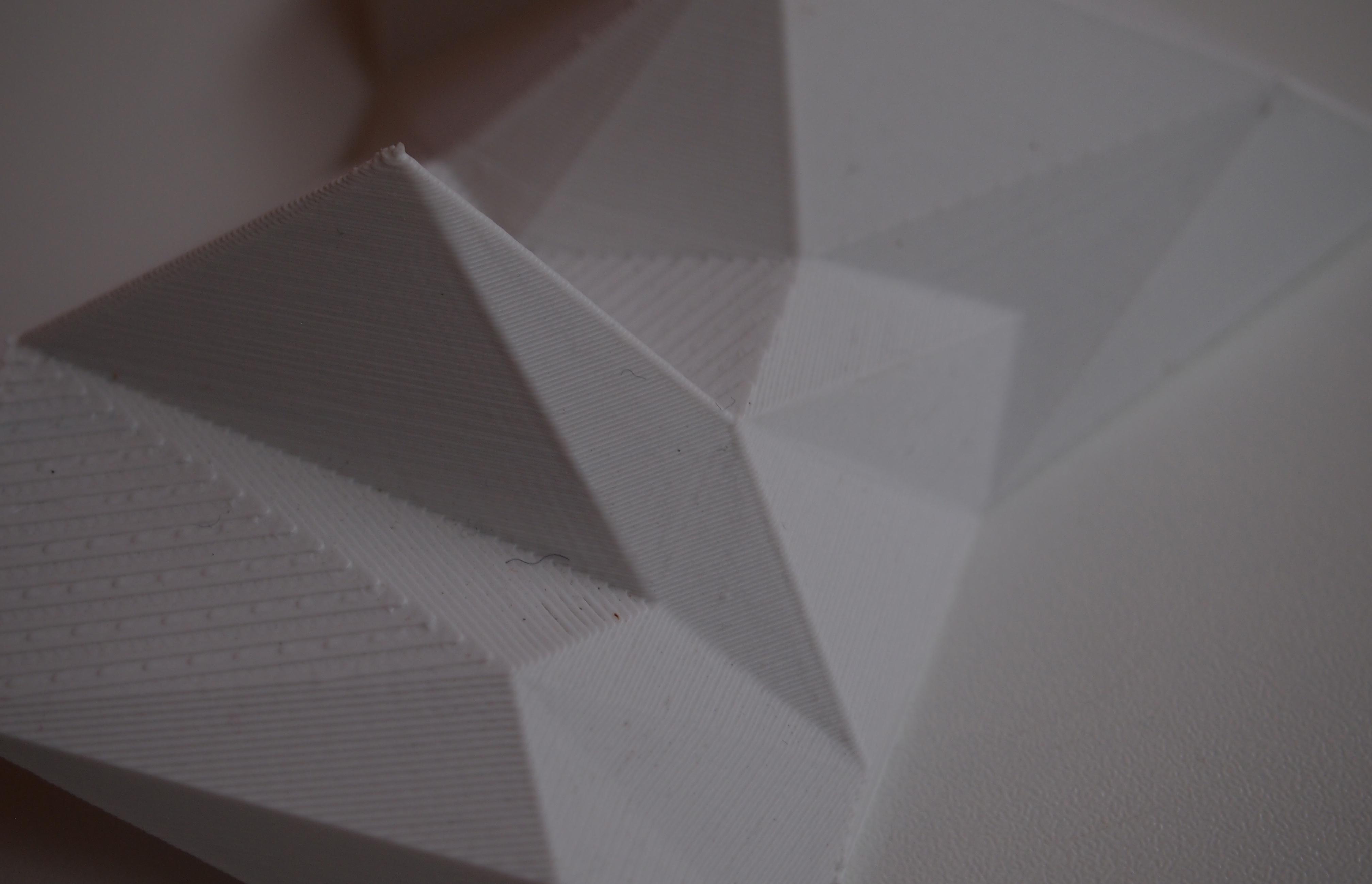 3D printed art installation