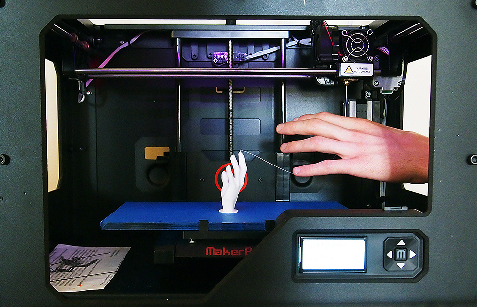 MannarFilms 3D printed Hand