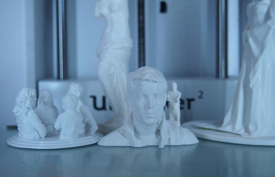 3D Druck Figuren beim Veranstaltungen
