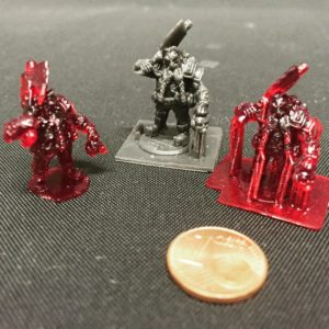 DLP printed dwarves