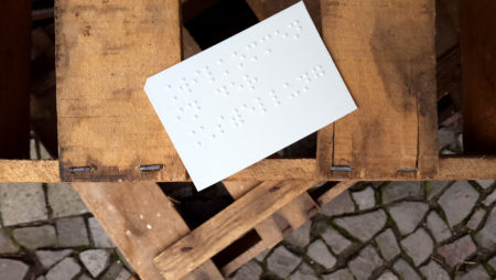 Feature Friday No. 14 – 3D Printed Braille