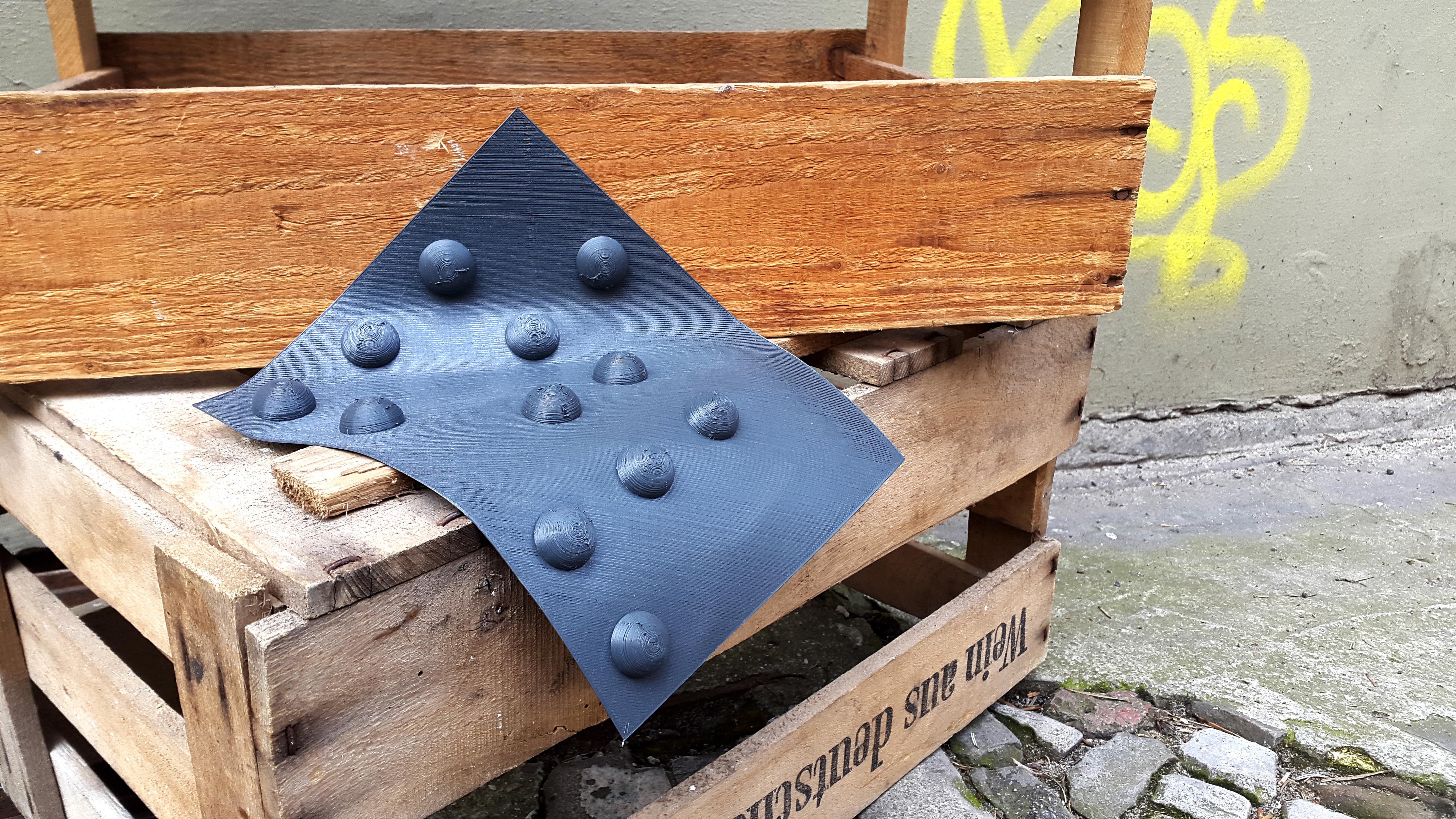 bee8e73ca95 3D Printed Braille Willowflex - DimensionAlley