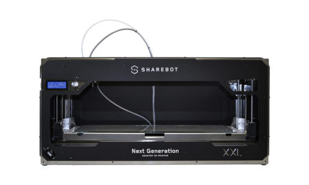 Sharebot XXL large volume 3D printer